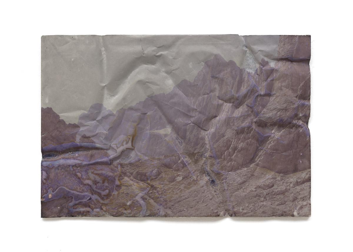 Anne Lina Billinger DOLOMITEN II 2018 Beton 50 × 74 cm 2