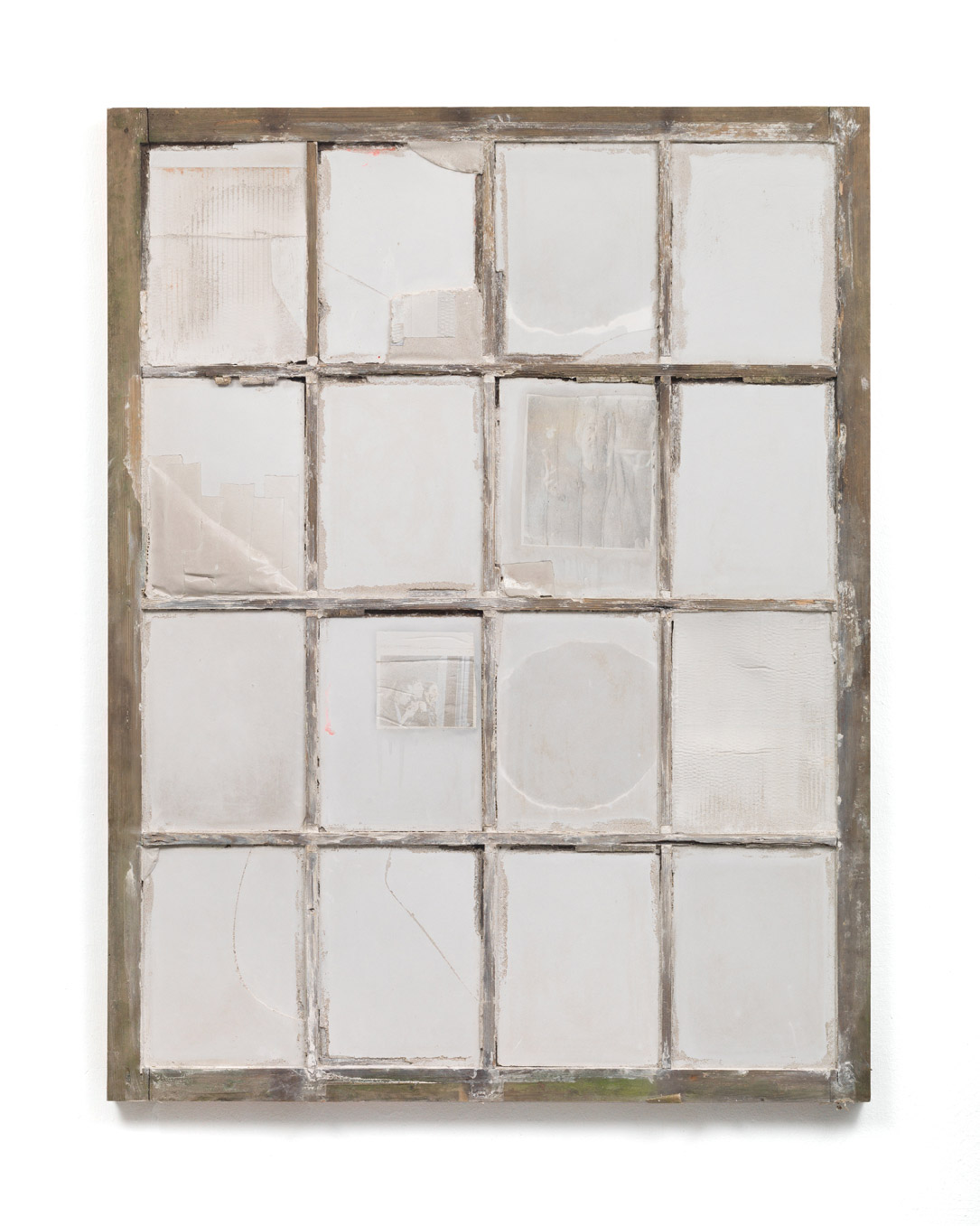 Anne Lina Billinger Fenster 2017 Concrete photo print wood 143x111x4 cm