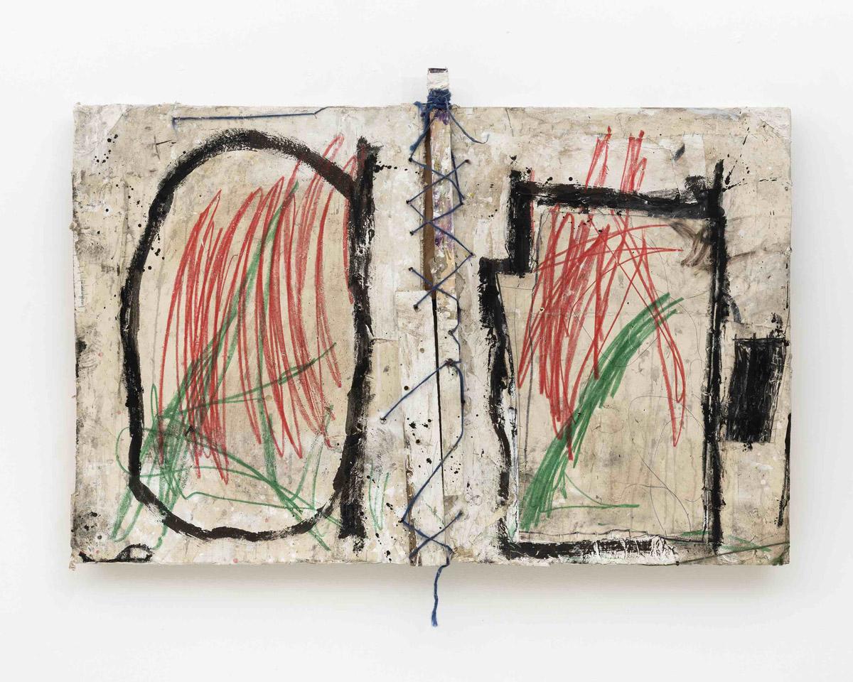 Greg Haberny Dirty 2018 mixed media on wood 98 x 141 x 6 cm Kopie