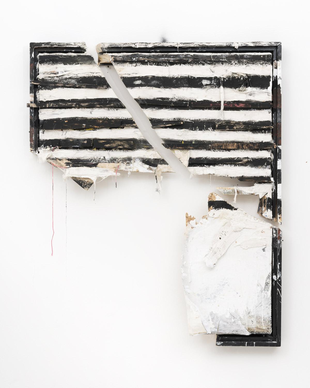 Greg Haberny Subtract Nothing 2018 mixed media on wood 169 x 130 x 30 cm plexiglas hood plus installation piece Copyright Wolfgang Günzel 1