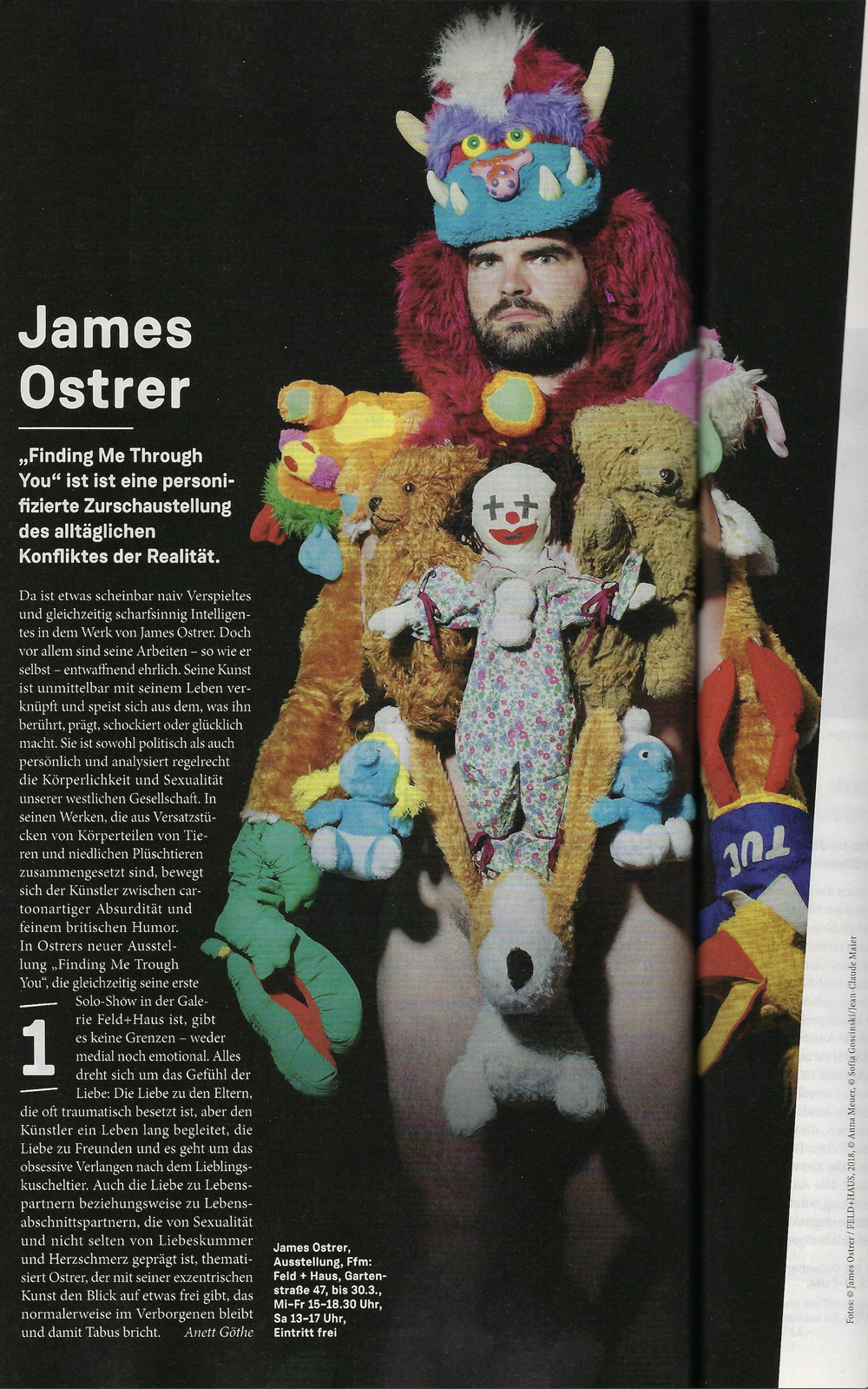 James Ostrer Journal Frankfurt Nr.3 2019 S