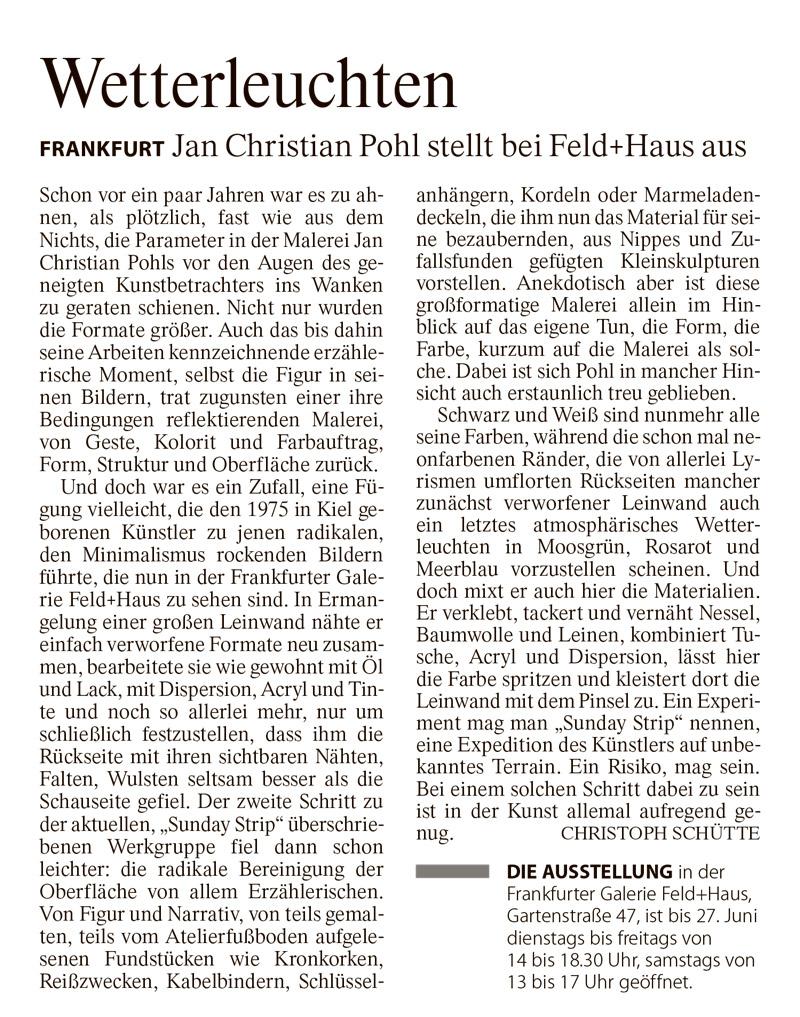 Jan Christian Pohl FAZ