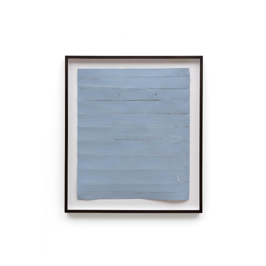 Özcan Kaplan Papierarbeit blau 2 Januar 2018