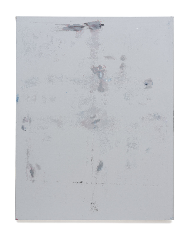 Özcan Kaplan Untitled 2017 No.9 Oil on untreated cotton 140 x 110 cm 1
