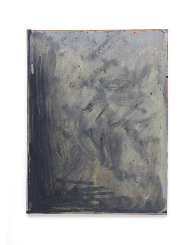 Özcan Kaplan Untitled 2018 No.11 Oil on untreated cotton 105 x 80 cm 1