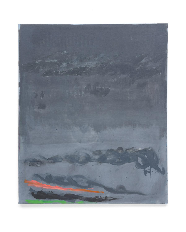 Özcan Kaplan Untitled 2018 No.7 Öl auf Nessel 110 x 90 cm 1