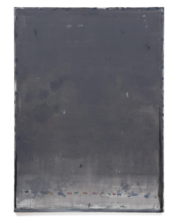 Özcan Kaplan Untitled 2019 No.2 Oil on untreated cotton 180 x 135 cm 1
